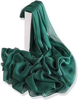 YFZYT Plain Farbe Modischer Damen Schal für Frühling & Sommer, Damen Schal Stola Halstuch Tuch aus Chiffon für Frühling Sommer Ganzjährig