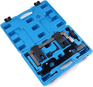Aintier Engine Timing Locking Setting Camshaft Crankshaft Alignment Tool Kit with Chain Tensioner Camshaft Locking Tool Fit for BMW N20 and N26 Engines