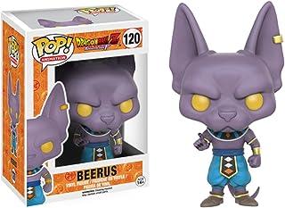 Pop!Figurine Dragon Ball Z Beerus #120 Figurine avec Boîte Jouets Collection Modèle Garçons Jouet pour Enfants Cadeaux 10Cm