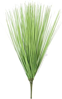 physpace 60cm Artificial Leave Onion Grass Silk Flower Decoration Flower Arranging Lawn Engineering Home Decoration Simulation Plant,Green