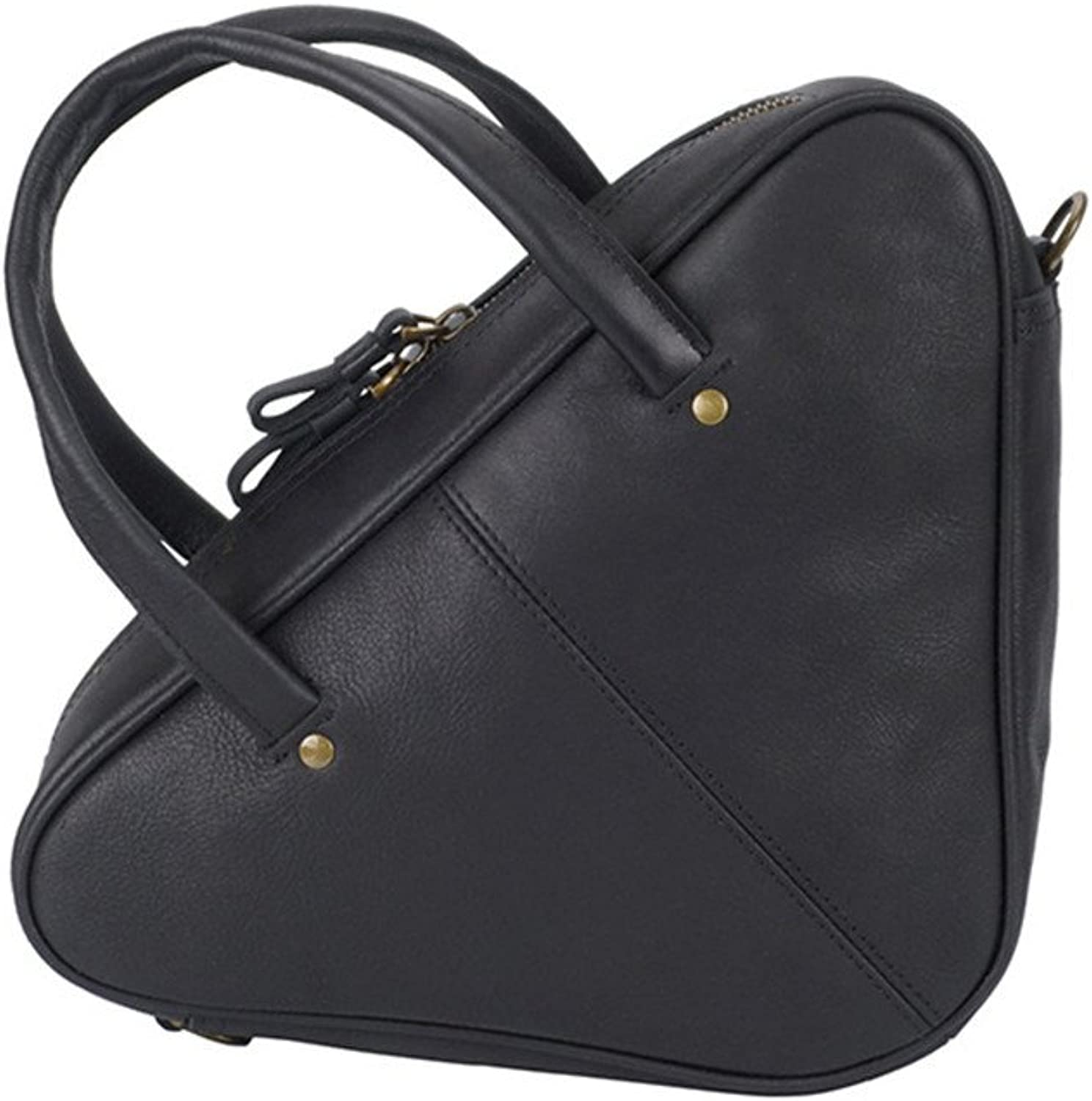 Sturdy New Vintage Handbag Leather Cowhide Messenger Handbag Leather Handbag Light Leather Comfort Handle Easy to Carry Large Capacity (color   Black)