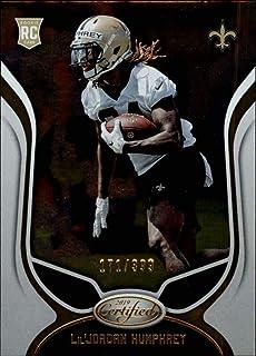 23301d56e9cc1 Amazon.com: 2019 Certified NFL #153 Lil'Jordan Humphrey RC Rookie ...