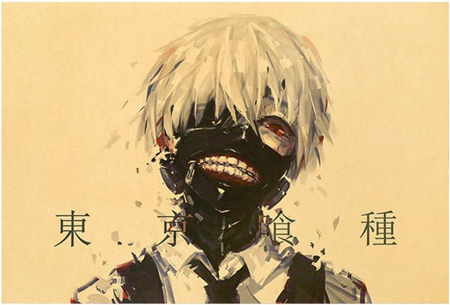WerNerk Anime Financial sales sale Super intense SALE Tokyo Ghoul Po Poster Kraft Uta