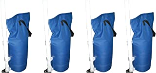 GigaTent Canopy Sand Bags for Outdoor Shelter (Canopy Leg Weights, Sand Bags) Blue 4 Pack