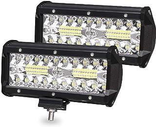 TriLance Lampe de Travail USB Rechargeable Lampe dInspection Camping P/êche Lampe de Poche avec Base dAimant pour Bricolage Maison Promenade Travail 75g L/éger Randonn/ée