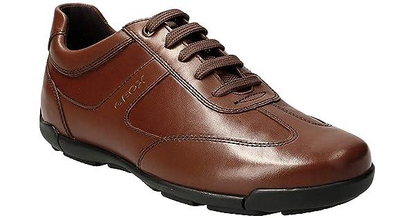 Geox U EDGWARE A heren sneaker: Amazon.nl