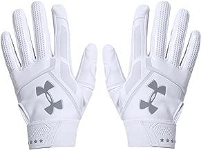 white under armour batting gloves