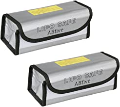 2pcs Lipo Battery Fireproof Explosionproof Bag Storage Guard Safe Pouch for Charge & Storage