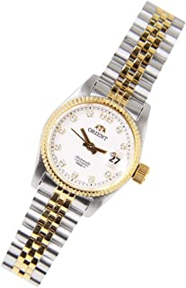 Orient Oyster Automatic Diamond Accent Japan Made SNR16002W Women's Watch