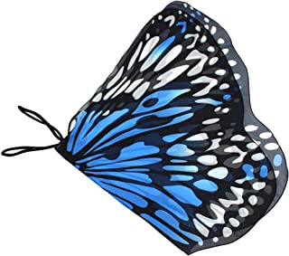 Novia's Choice Kids Butterfly Wing Shawl Halloween Costume Play Cape Dress Up Dance Photo Shooting Wings