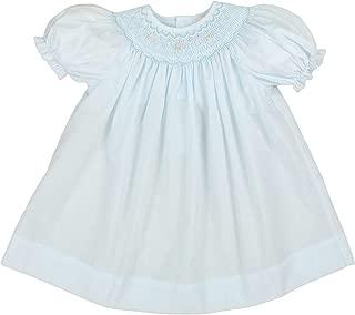 Baby Girls' Bishop Smocked Short Sleeve Dress