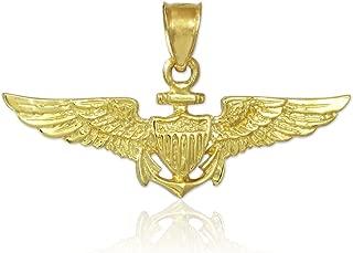 14k gold naval aviator wings