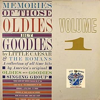 Memories of Those Oldies but Goodies Vo. 1
