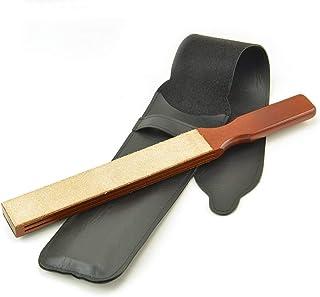 à main double pagaie en cuir à rasoir par Thiers-Issard