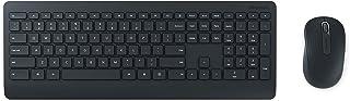 Microsoft – Wireless Desktop 900 – Ensemble clavier et souris sans fil avec récepteur USB, compatible Windows et macOS (Cl...