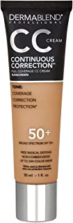Dermablend Continuous Correction CC Cream, Shade: 45N, 1 fl. oz.