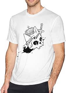 DDHHYY Anime JoJo's Bizarre Adventure Killer Queen Men's Short Sleeve T-Shirt