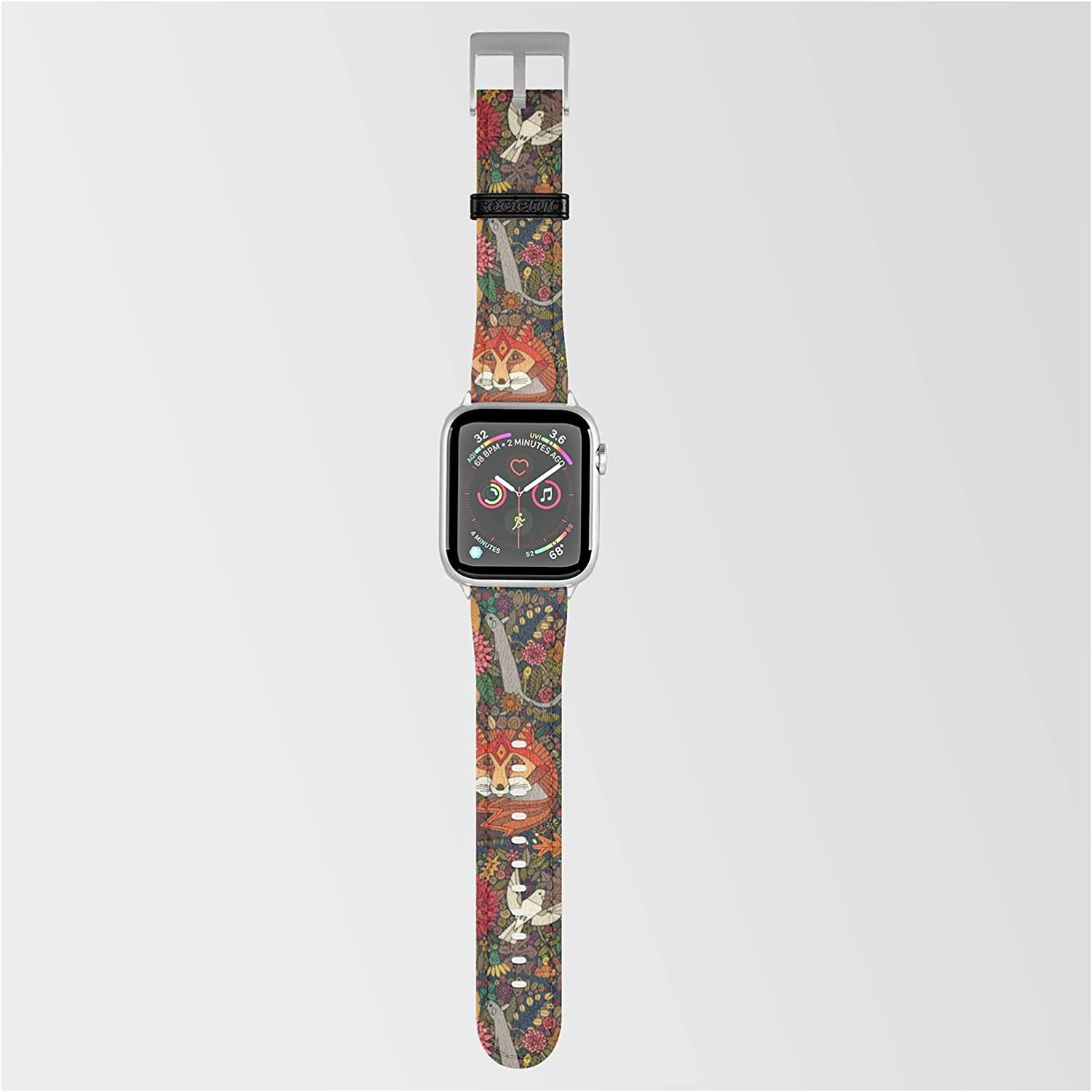 Fox Garden by Sharon Turner on with Max 67% OFF Band Compatible New popularity A Smartwatch