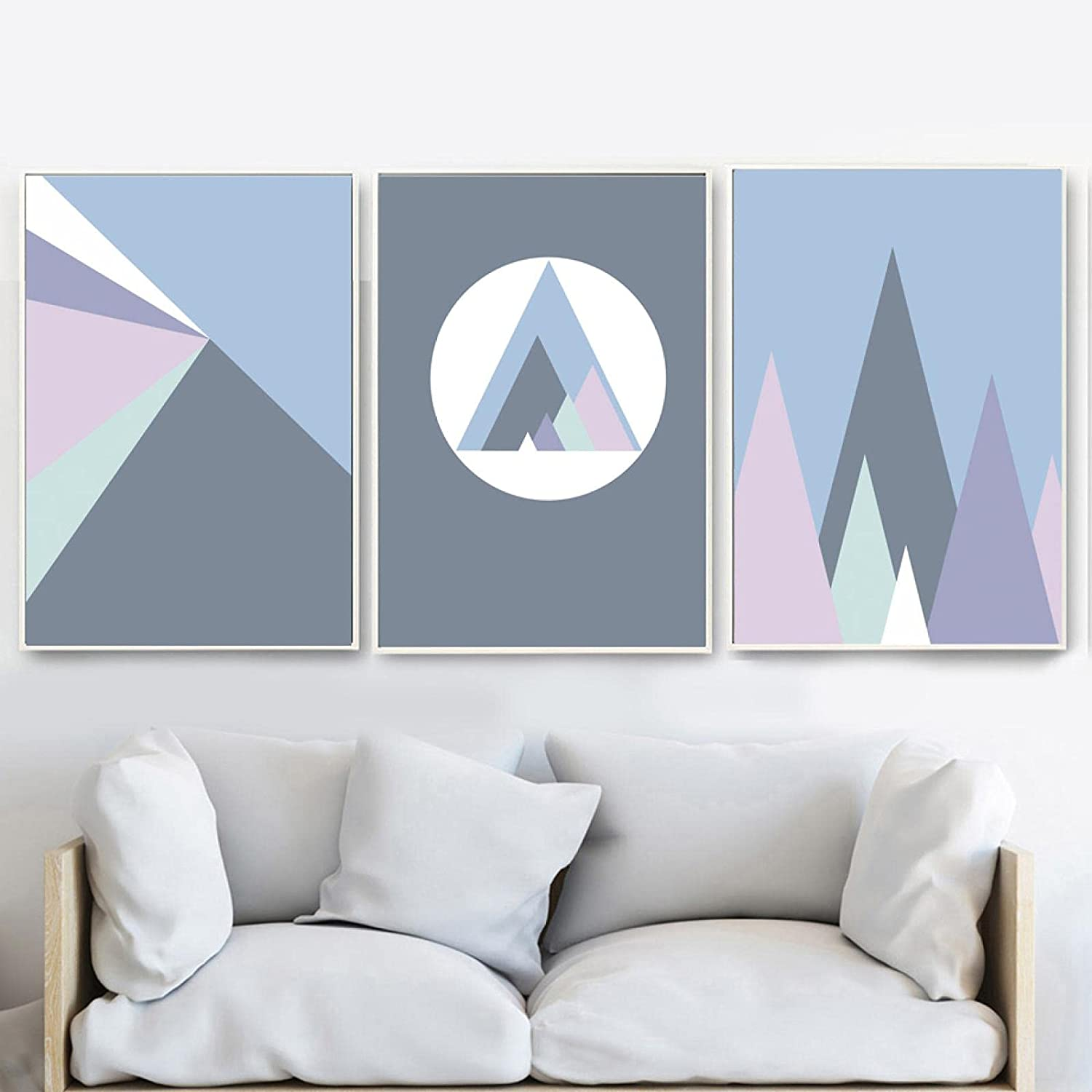 Abstract Wall Art Geometric Mountain Nordic Prints Direct store Super Special SALE held And C Posters