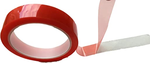 Dubbelzijdig plakband, extra sterk, doorzichtig, dun, dubbele tape, plakband, montageband, voor binnen en buiten, bouwplaa...