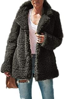 Surprise S Plush Coat Women Lamb Thicken Autumn Warm Long Sleeve Female Jackets Overcoat