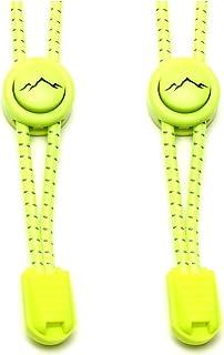 gipfelsport Lacci Elastici Rotondi - Lacci Scarpe Elasticizzati | Lacci Reflective per Adulti e Bambini | per Triathlon, C...