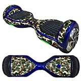 Fewear Protective Skin Decal for 6.5in Self Balancing Scooter Hoverboard 2 Wheels- Sticker for Hover Board - Skin for Self-Balancing Electric Scooter - Decal for Self Balance Mobility Longboard (K)