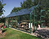 Eden salas studyingstore Eden Monarch invernaderos 609,6 cm - verde invernadero grande: vidrio - 3 mm vidrio hortícola