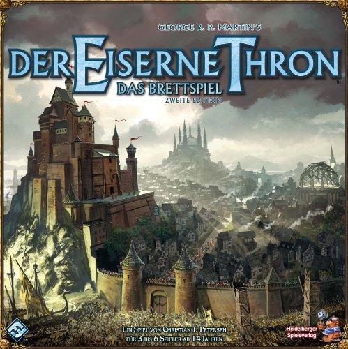 Asmodee Der Eiserne Thron: Das Brettspiel 2. Edition, Grundspiel, Expertenspiel, Strategiespiel, Deutsch
