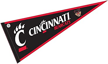 College Flags and Banners Co. University of Cincinnati Pennant Full Size Felt