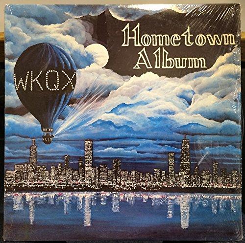WKQX Radio Rock Comp Hometown Album vinyl record