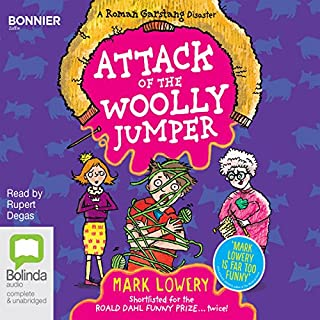 Attack of the Woolly Jumper cover art