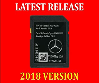 New SD Card Garmin Map Pilot 2018 2019 Mercedes-Benz Navigation Part A2189063403