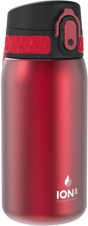 Ion8 Botella Agua Acero Inoxidable Termica Sin Fugas, 320ml