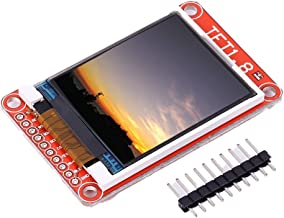 Icstation 1.8 Inch Color TFT LCD Display Screen 128X160 ST7735 Driver with Micro SD Card Slot for Arduino UNO MEGA Nano