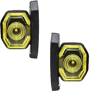 Satz LED 12V 24V Positionsleuchte Umrißleuchte Begrenzungsleuchten LKW PKW Gelb E prüf