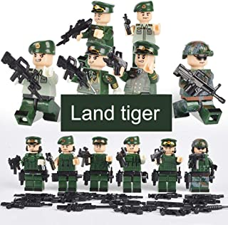 cary-yan Building Blocks Toys Educational Assembled Military Series Cartoon Dolls for Children Best Service forSale