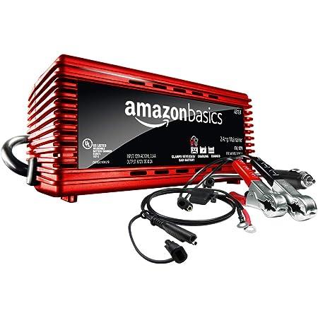 AmazonBasics Battery Charger 12 Volt 2A