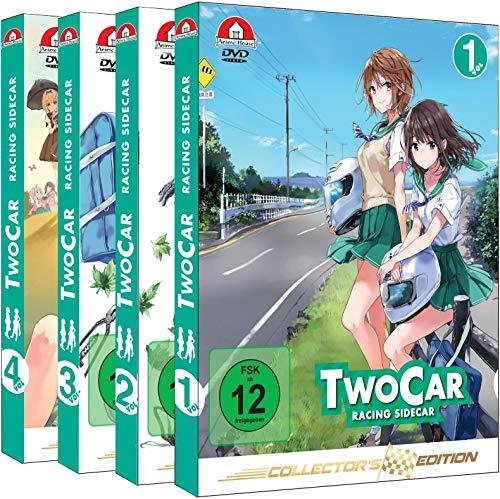 Two Car: Racing Sidecar - Gesamtausgabe - Collector's Edition - Bundle - Vol.1-4 - [DVD]