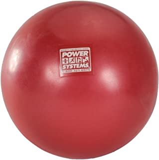 Power Systems Myo-Therapy Ball,  8 Inches,  Red (80687)