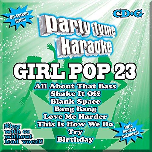 Party Tyme Karaoke - Girl Pop 23...