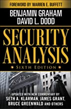 Security Analysis: Sixth Edition, Foreword by Warren Buffett