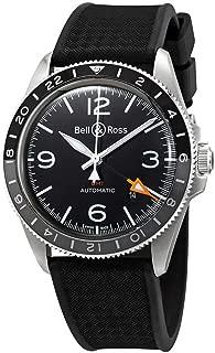 Bell & Ross Vintage BR V2-93 GMT Men's Watch BRV293-BL-ST/SRB