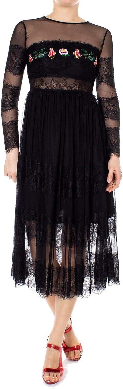 Desigual Women's 19SWVKB1BLACK Black Polyester Dress