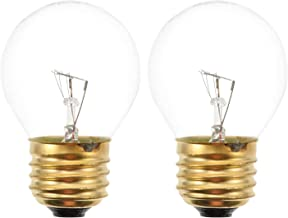 FRCOLOR 2pcs LED Edison Light Bulbs E26 Base Antique Vintage LED Light Bulbs Oven Lamp Bulb Oven Refrigerator Replacement ...