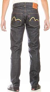 エヴィスジーンズ 28~36in ラスター カモメマーク No2 2000 裾上げ可 レギュラーストレート ヴィンテージデニム EVISU JEANS RASTER KAMOME LIMITED MODEL