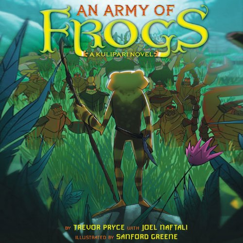 An Army of Frogs audiobook cover art