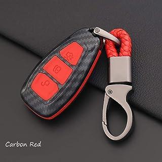Pro Braking PBR1128-TRD-BLA Rear Braided Brake Line Transparent Red Hose /& Stainless Black Banjos
