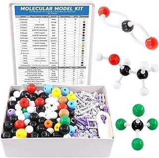 Swpeet 267 Pcs Organic Chemistry Molecular Model Student and Teacher Kit, Chemistry Molecular Model Student and Teacher Se...