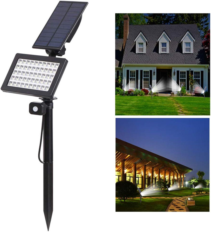 LIJUEZL Solar Strahler50LED Solar Spotlight Outdoor, Induktion des menschlichen Krpers Rasenlicht
